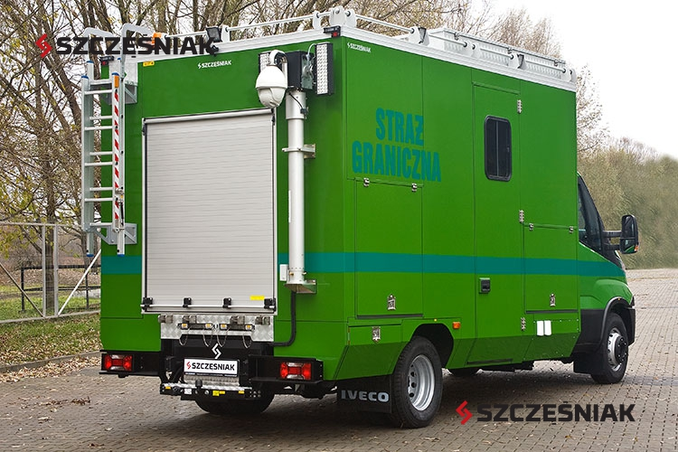 Ambulans pirotechniczny Iveco Daily 4x2