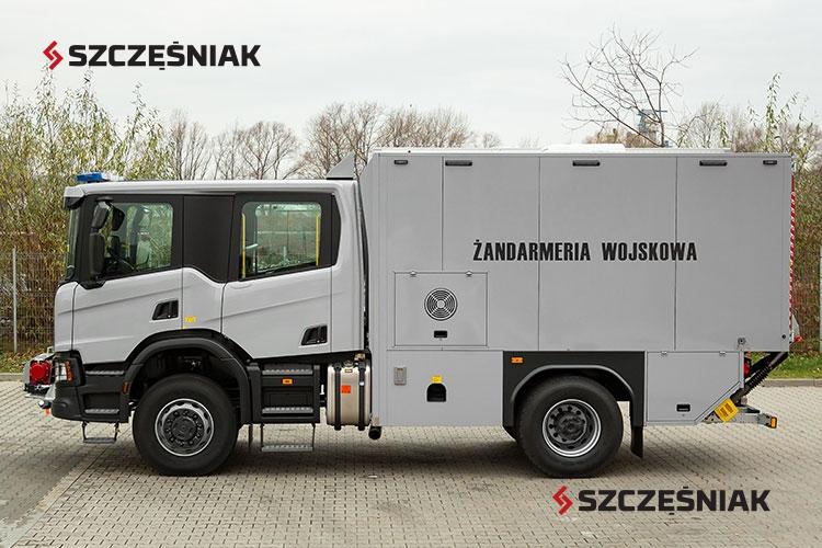 Ambulans pirotechniczny Scania P320
