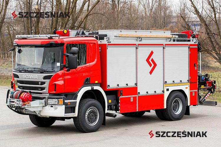 Ciężki samochód ratownictwa technicznego Scania P450 4x4