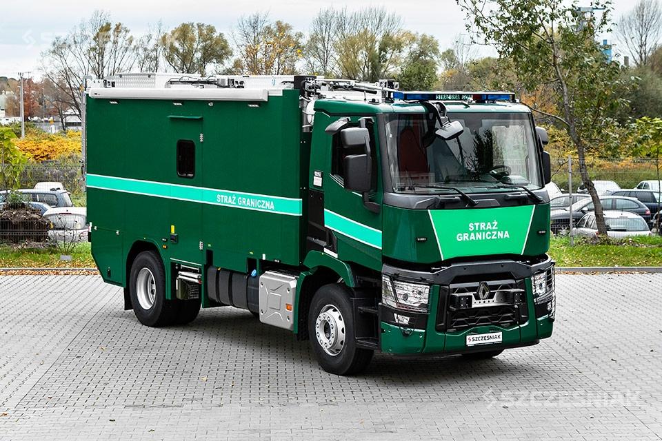 Ciężki Ambulans Pirotechniczny RENAULT C 4X2