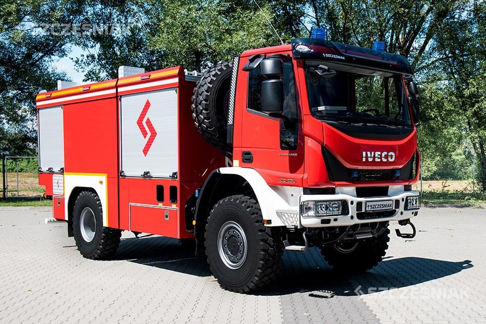 Ciężki Samochód Ratowniczo Gaśniczy Iveco EUROCARGO