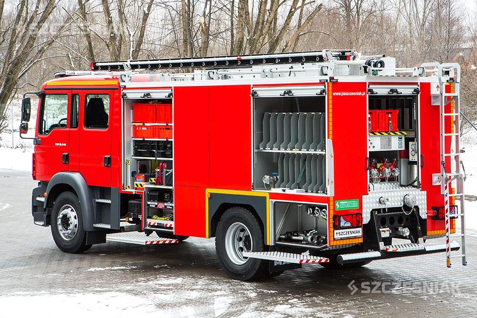 Ciężki Samochód Ratowniczo Gaśniczy MAN TGM