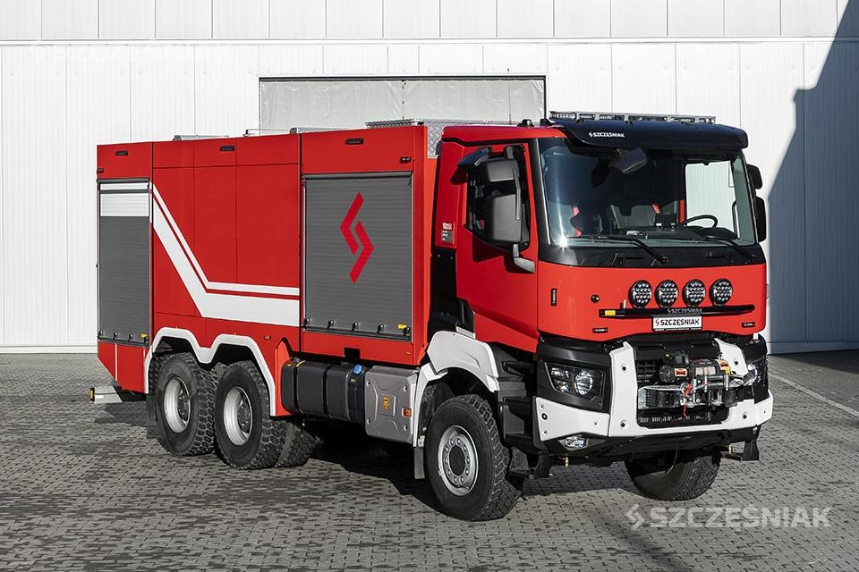 Ciężki Samochód Ratowniczo Gaśniczy Renault K