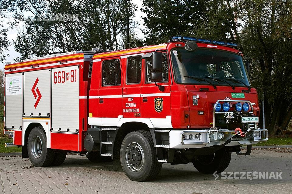 Ciężki Samochód Ratowniczo Gaśniczy TATRA