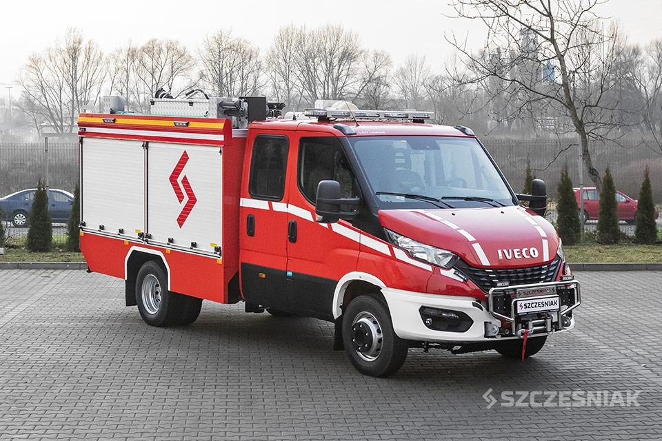 Lekki Samochód Ratowniczo Gaśniczy Iveco Daily 65C17