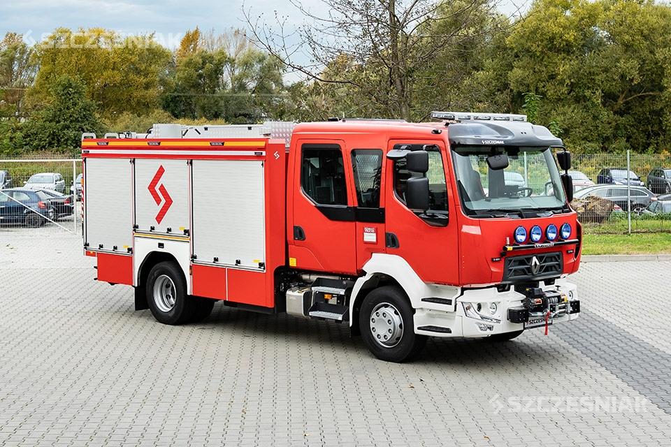 Średni Samochód Ratowniczo Gaśniczy [GBA] serii Renault D