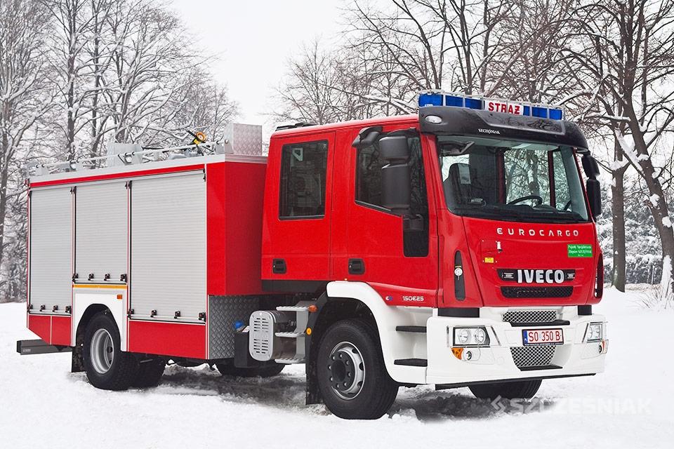 Średni Samochód Ratowniczo Gaśniczy Iveco EUROCARGO