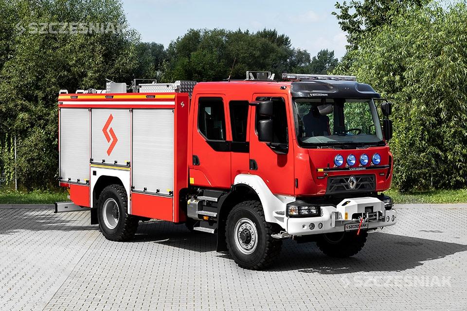 Średni Samochód Ratowniczo Gaśniczy Renault D 4x4