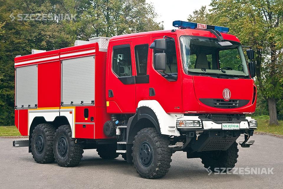 Średni Samochód Ratowniczo Gaśniczy TATRA T810