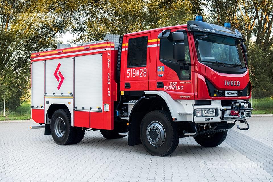 Średni uterenowiony Samochód Ratowniczo Gaśniczy Iveco EUROCARGO 4x4