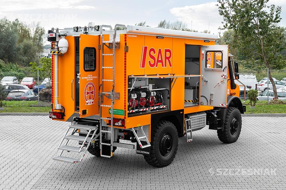 Samochód ratownictwa wodnego SAR 4x4